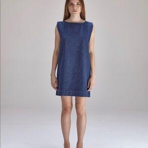 ILana Kohn denim shift dress - Size - Small